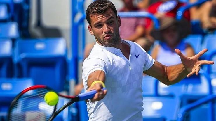 ATP w Brisbane: Trudna przeprawa Dimitrowa w ćwierćfinale
