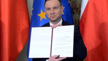 02-05-2016 12:02 Prezydent podpisał projekt ustawy w sprawie oświaty polonijnej
