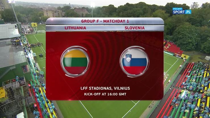2016-09-04 Litwa - Słowenia 2:2. Skrót meczu