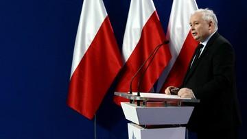 """28-02-2017 11:41 Kaczyński o kandydaturze Saryusz-Wolskiego: """"to poziom spekulacji"""". O Tusku: """"nie może liczyć na poparcie"""""""