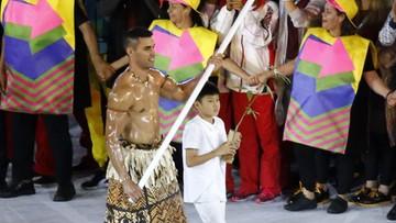 08-08-2016 14:21 #Rio2016: setki ofert pracy i propozycje matrymonialne dla zawodnika z Tonga. Pokazał nagi tors