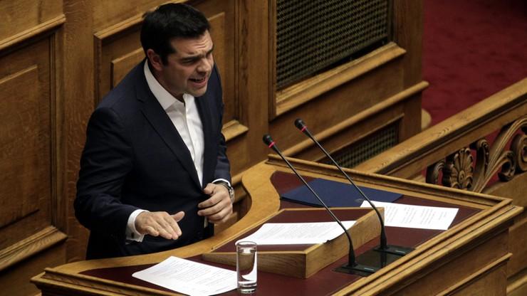 """Rząd Ciprasa już z wotum zaufania; """"Musimy zacisnąć zęby"""""""