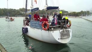 Niepełnosprawni żeglarze opływają świat. Ich jacht zacumował w Gdyni