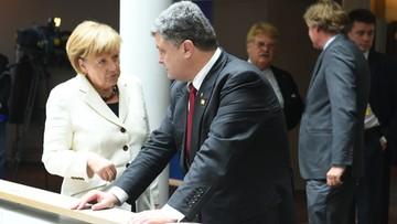 29-09-2016 17:37 Poroszenko do Merkel: rozejm w Donbasie nie jest przestrzegany