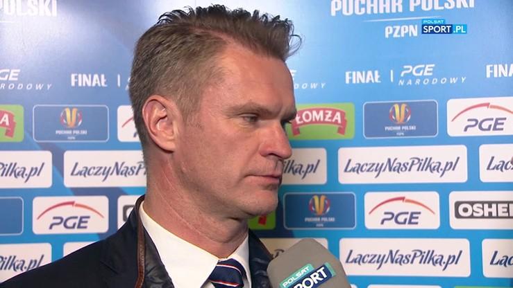 Wojtala: Arka konsekwentną grą zdobyła Puchar Polski