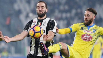 2016-11-21 Juventus w Sewilli bez Higuaina