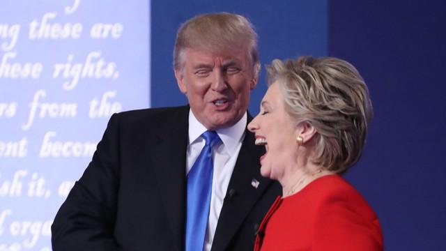 Komentatorzy: Trump przegrał pierwszą debatę z Clinton