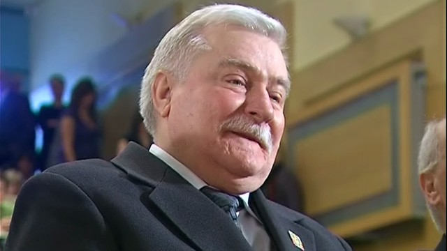 Wałęsa typuje wynik drugiej tury. Wygra Komorowski, Duda jest ograniczony Kaczyńskim