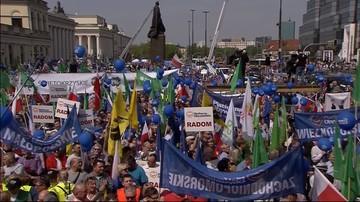 """Policja: informacje o liczebności """"Marszu Wolności"""" oparte na szacunkach"""