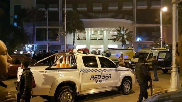 Egipt: trzech turystów rannych w ataku na hotel w Hurghadzie