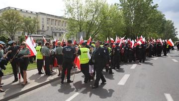 13-05-2016 14:50 Protest celników w Warszawie. Chodzi o emerytury