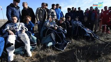 10-04-2017 16:32 Trzej kosmonauci powrócili na Ziemię. Wylądowali w Kazachstanie