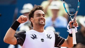 2017-07-30 ATP w Gstaad: Zwycięstwo Fogniniego
