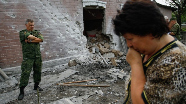 Komisarz ONZ: liczba ofiar cywilnych na wschodzie Ukrainy najwyższa od roku