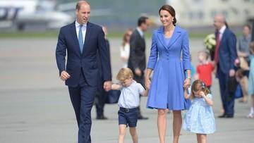 19-07-2017 10:57 Para książęca Cambridge odleciała z Warszawy do Berlina