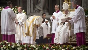 15-04-2017 22:30 Papież: handel ludźmi, niesprawiedliwość i migranci przywołują cierpienia Jezusa