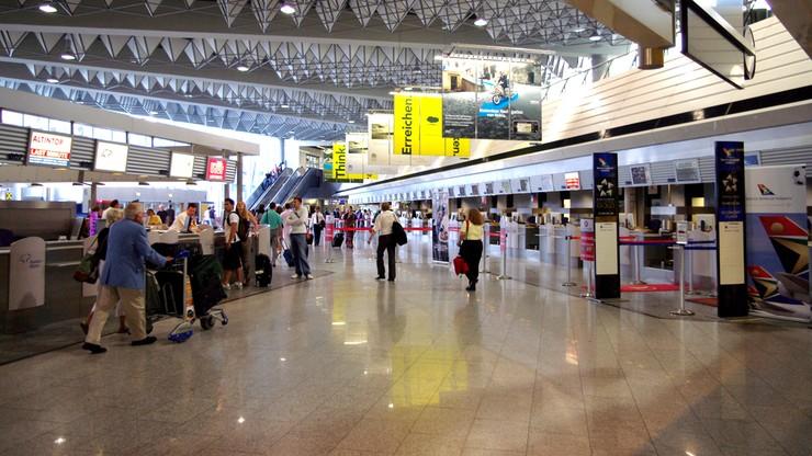 Gaz na lotnisku we Frankfurcie. Ucierpiało sześć osób