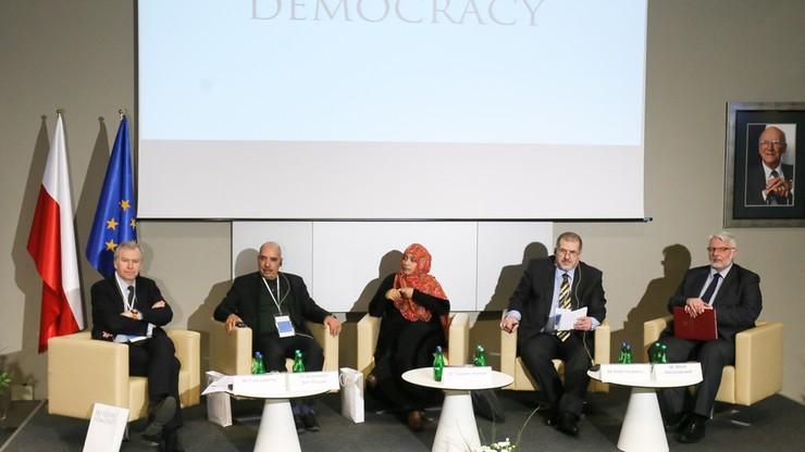 Uczestnicy Warszawskiego Dialogu na rzecz Demokracji ostro o sytuacji w Syrii