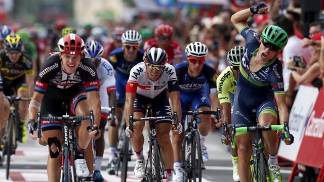 Vuelta Espana - etap dla Nielsena, Quintana wciąż liderem