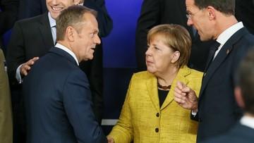 """15-12-2017 08:52 Niemiecka prasa chwali Tuska. """"Zdemaskował absurdalny europejski pomysł"""""""