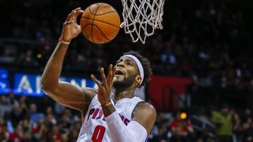 2015-11-09 NBA: Drummond ponownie błyszczał