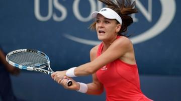 2015-09-02 US Open: Radwańska pokonała Linette. Setne zwycięstwo w Wielkim Szlemie
