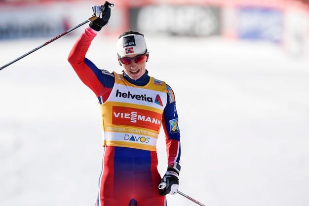 Davos: Bjoergen znów pierwsza