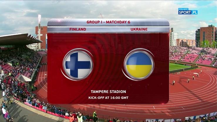 Finlandia - Ukraina 1:2. Skrót meczu