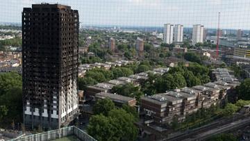 Liczba ofiar pożaru w Londynie wzrosła do 79