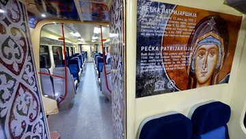 17-01-2017 20:46 Pociąg z Belgradu nie mógł wjechać do Kosowa. USA apeluje o uspokojenie sytuacji