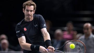 2015-11-07 Turniej ATP w Paryżu: Murray pierwszym finalistą
