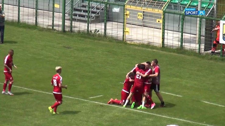 GKS Katowice - Drutex-Bytovia 1:1. Skrót meczu