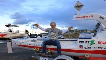 """09-08-2017 06:26 """"Pogoda zamówiona; jedzonko też"""". Aleksander Doba zaprasza na bankiet... na Atlantyku"""