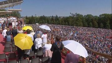 Ponad 100 tys. wiernych na Jasnej Górze. Święto Wniebowzięcia Najświętszej Marii Panny