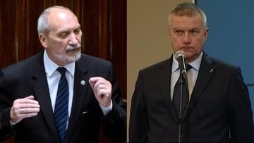 """20-10-2016 17:56 """"Był cieciem u niemieckiego przedsiębiorcy"""". Macierewicz o Pawle Grasiu"""