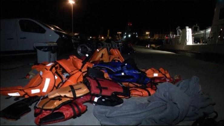 Starcia w obozie dla migrantów na Lesbos