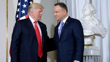 06-07-2017 10:07 Spotkanie Andrzeja Dudy z Donaldem Trumpem