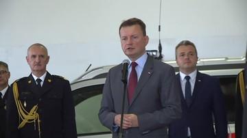 05-09-2017 13:45 Błaszczak: opozycja nie chce współpracować w kwestii reparacji
