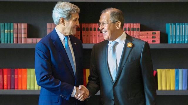 Kerry: rozmowy z Putinem i Ławrowem były szczere