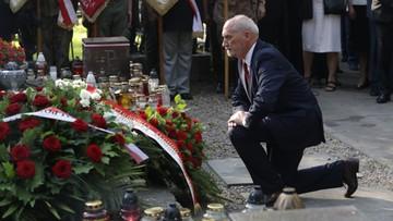 01-08-2017 14:42 Macierewicz: dzięki powstańcom szansa na niepodległość