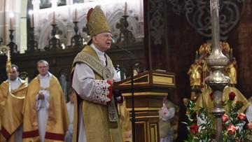 """28-01-2017 12:44 Ingres abp Jędraszewskiego. """"Podejmijcie wraz ze mną trud głoszenia Chrystusa"""""""