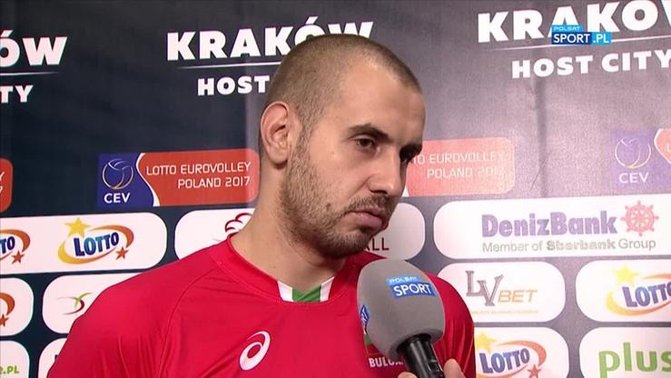 Bratojew: Serbia wygrała zasłużenie, bo była od nas wyraźnie lepsza!