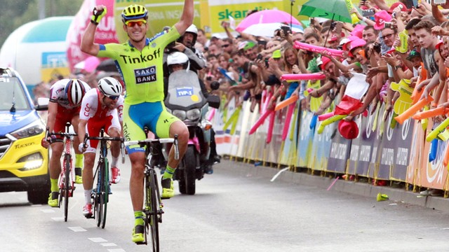 Tour de Pologne: Maciej Bodnar wygrał w Nowym Sączu