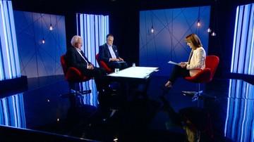 """30-09-2016 21:37 Czy plan Morawieckiego jest potrzebny, czy to gruszki na wierzbie? Miller, Pawlak i Belka dyskutują w programie """"Prezydenci i Premierzy"""""""