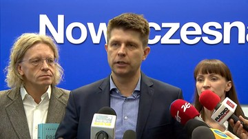 28-12-2015 12:30 Petru: PiS zmusiło prezydenta do podpisania nowelizacji ustawy o TK