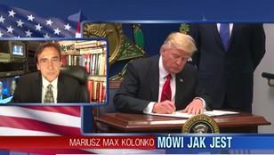 Mariusz Max Kolonko - tryumf Donalda Trumpa. Muzułmanie z 6 państw nie wjadą