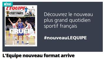 2015-09-18 L'Equipe zmienia szaty