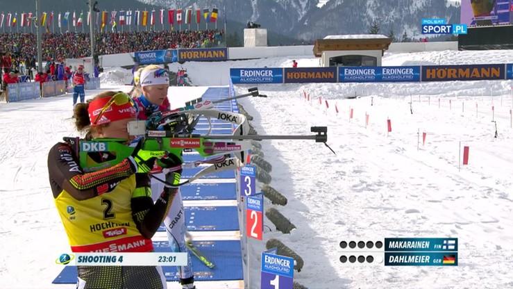 Kolejne złoto MŚ w biathlonie dla Dahlmeier. Kapitalny finisz Niemki