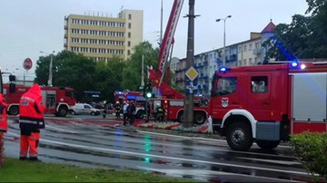 Dramatyczna akcja strażaków w płonącej wieży katedralnej w Gorzowie Wielkopolskim