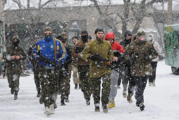 Ukraina: rządowa ofensywa pod Mariupolem